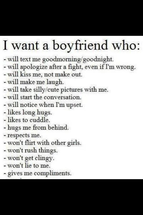 what I want <3 #boyfriend