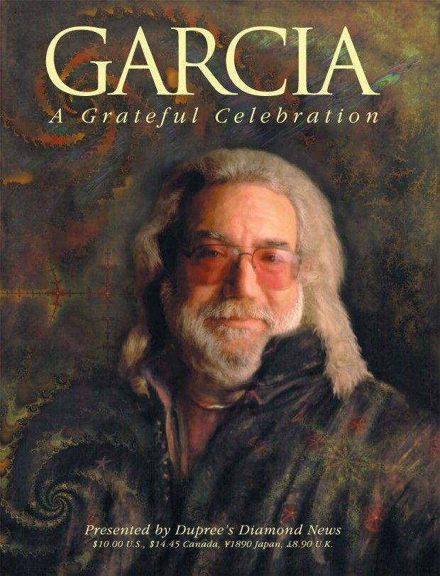 "Cover of Duprees Diamond News ""Garcia: A Grateful Celebration"""