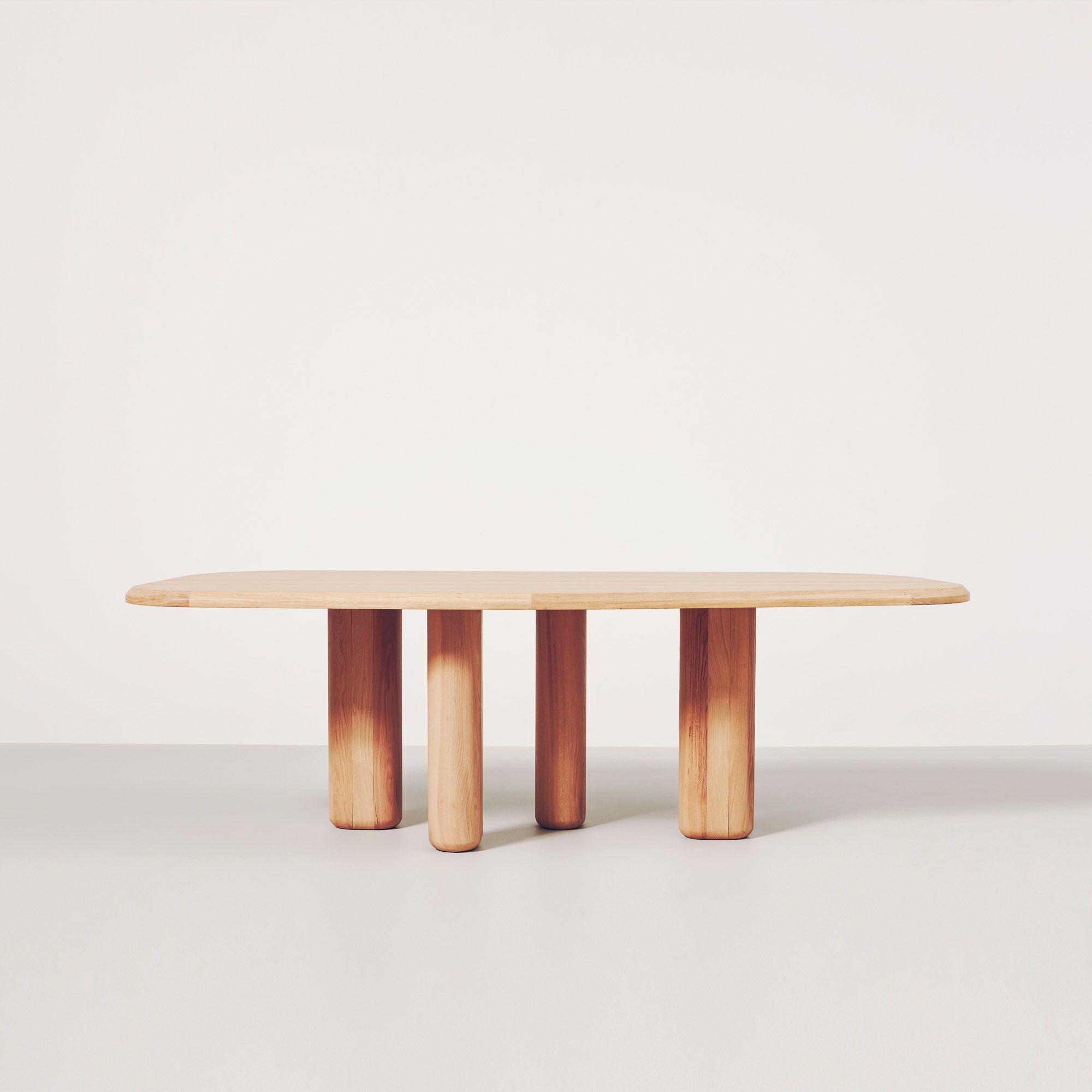 Rough Dining Table By Collection Particulaire Mobilier De Salon Table Salle A Manger Meuble Fait Main
