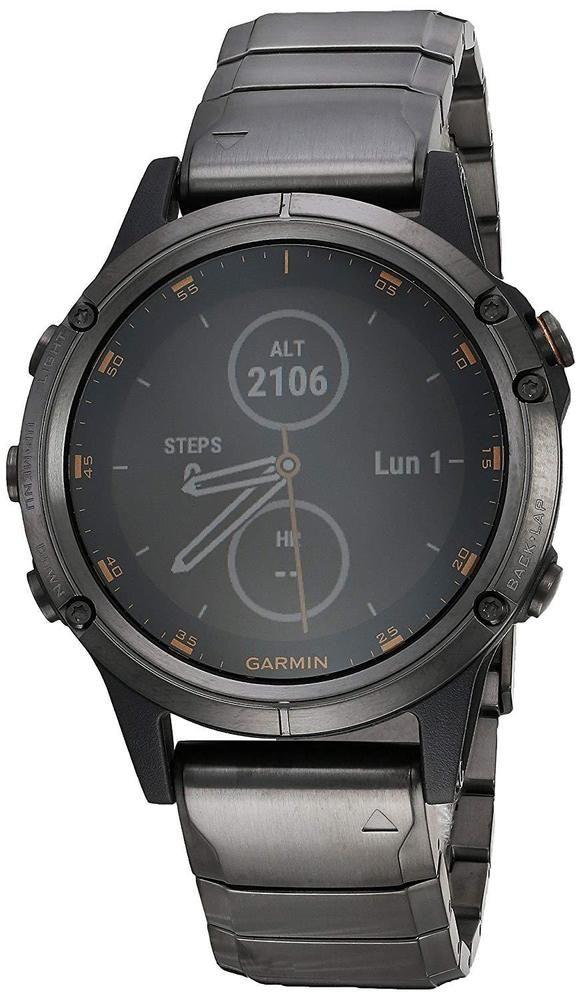 Garmin fēnix 5 Plus Premium Multisport Watch with Music