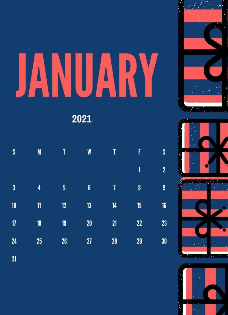 Cute January 2021 Calendar Wallpaper 2021 Calendar Calendar Design Layout Calendar Design