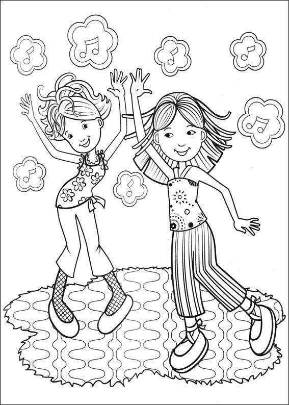 Groovy Girls Coloring Pages 18 | Ausmalbilder/Malvorlagen ...