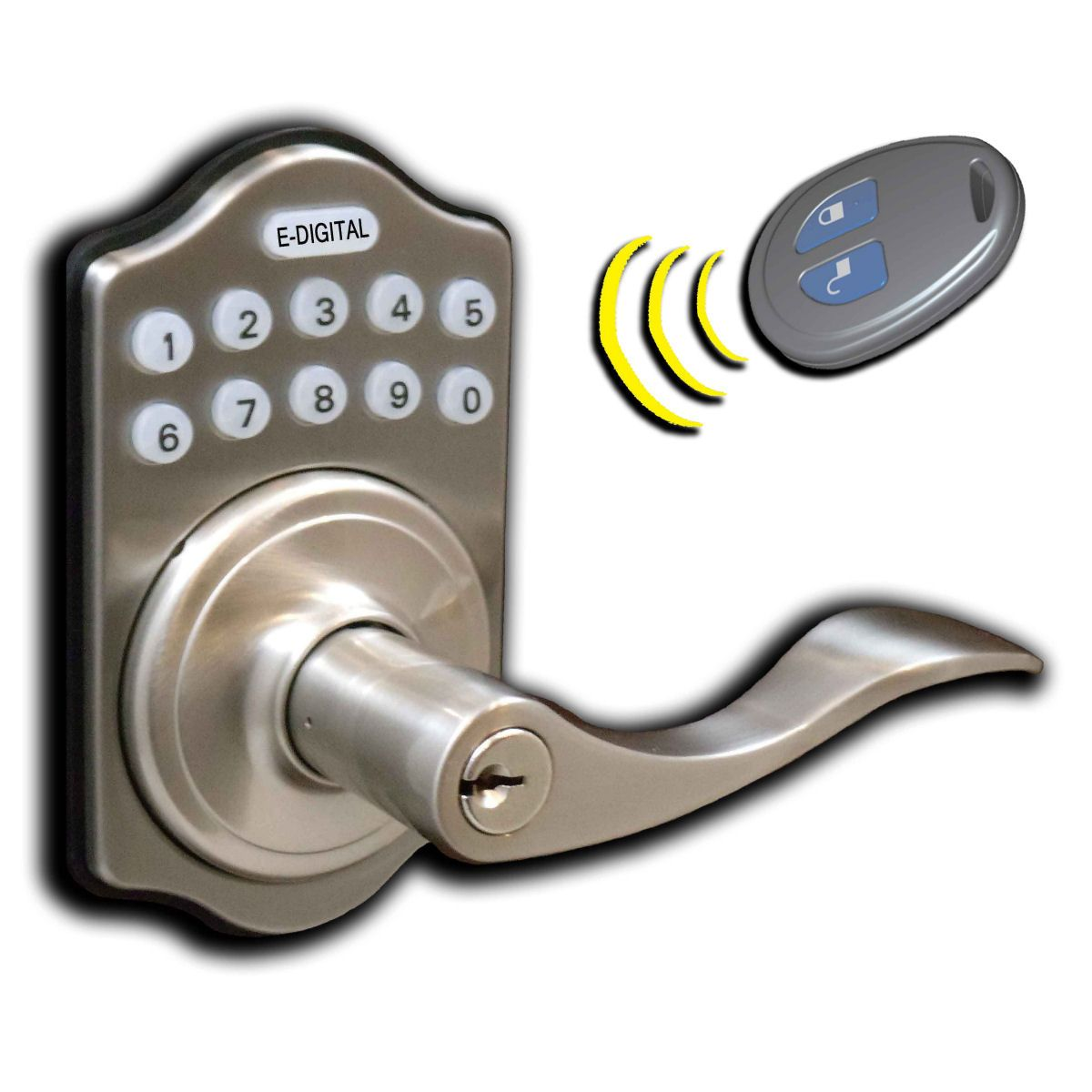 Made for residential use only Operate 1 or more locks with