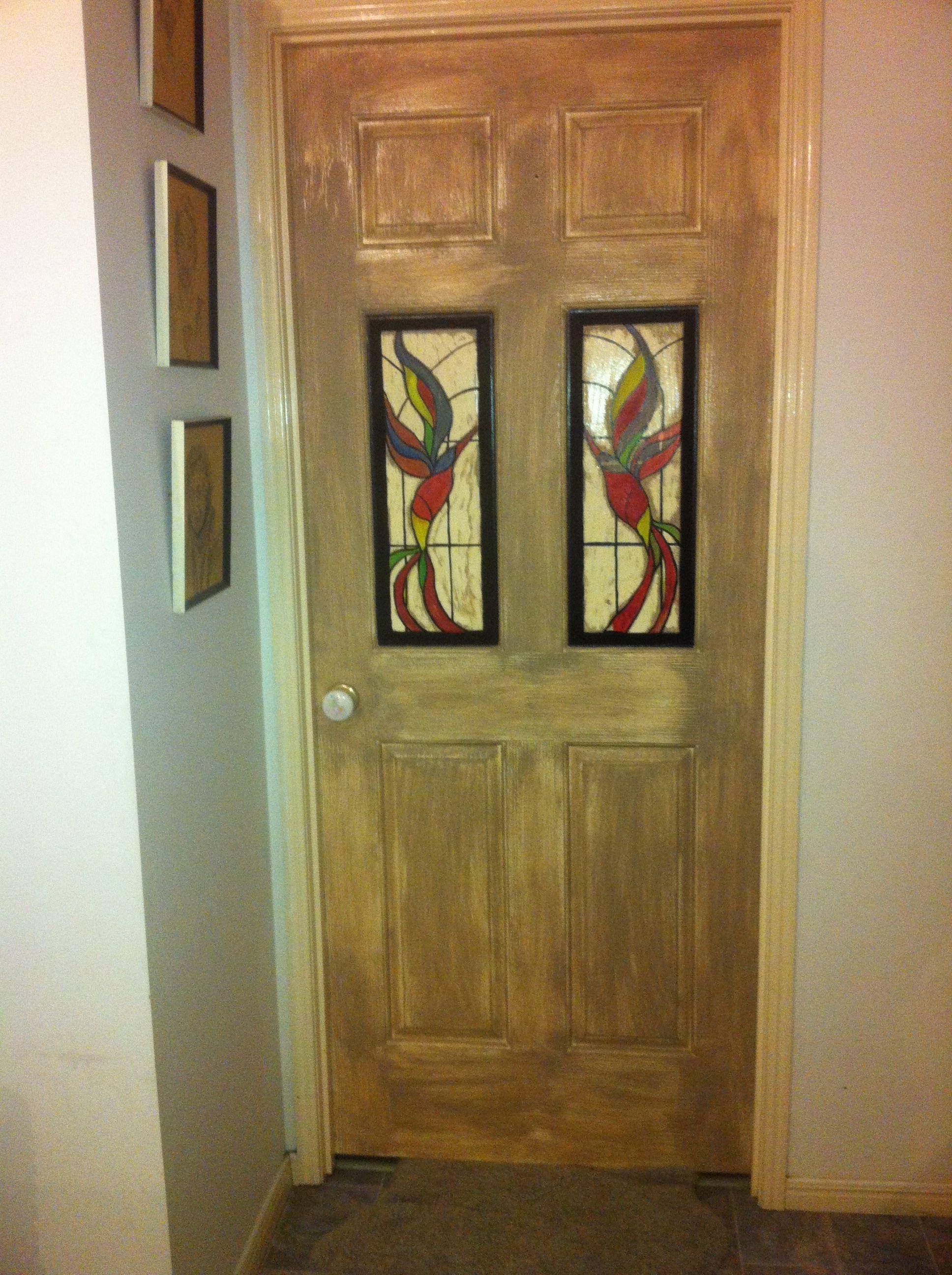 Hand Painted Door Mural Door Murals Painted Doors Decor