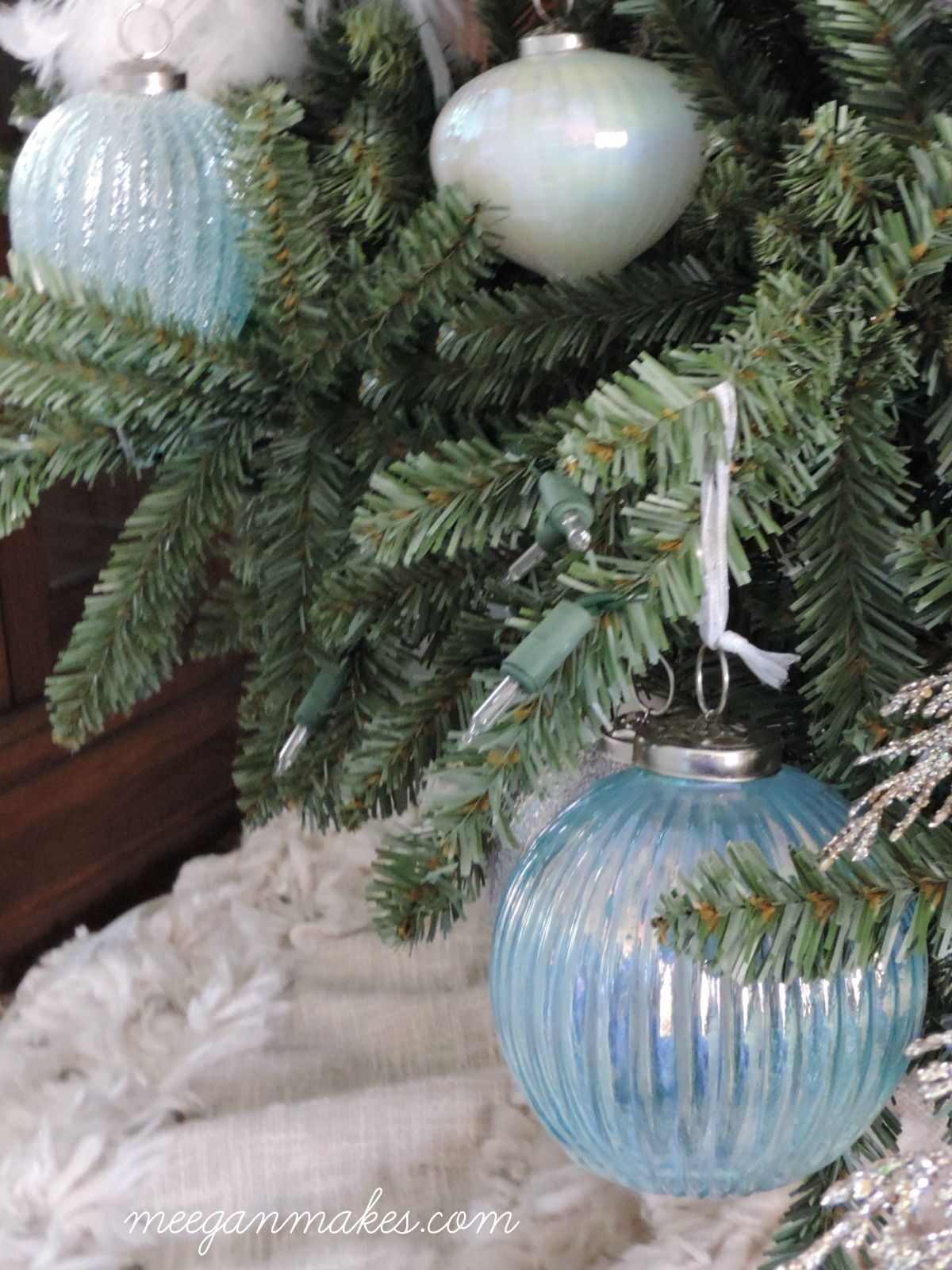 Christmas Tree Ornament Sets.Coastal Elegance Ornament Set Christmas Tree Ornaments And
