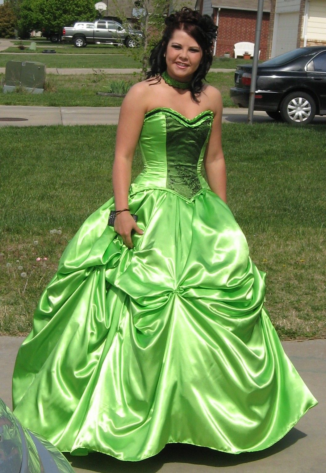 Ball Gown Bustle