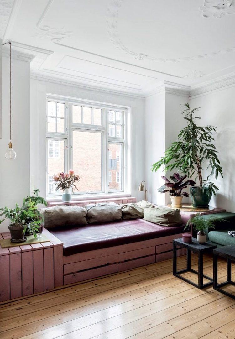 Fensterbank zum Sitzen modern gestalten - 20 Designideen ...