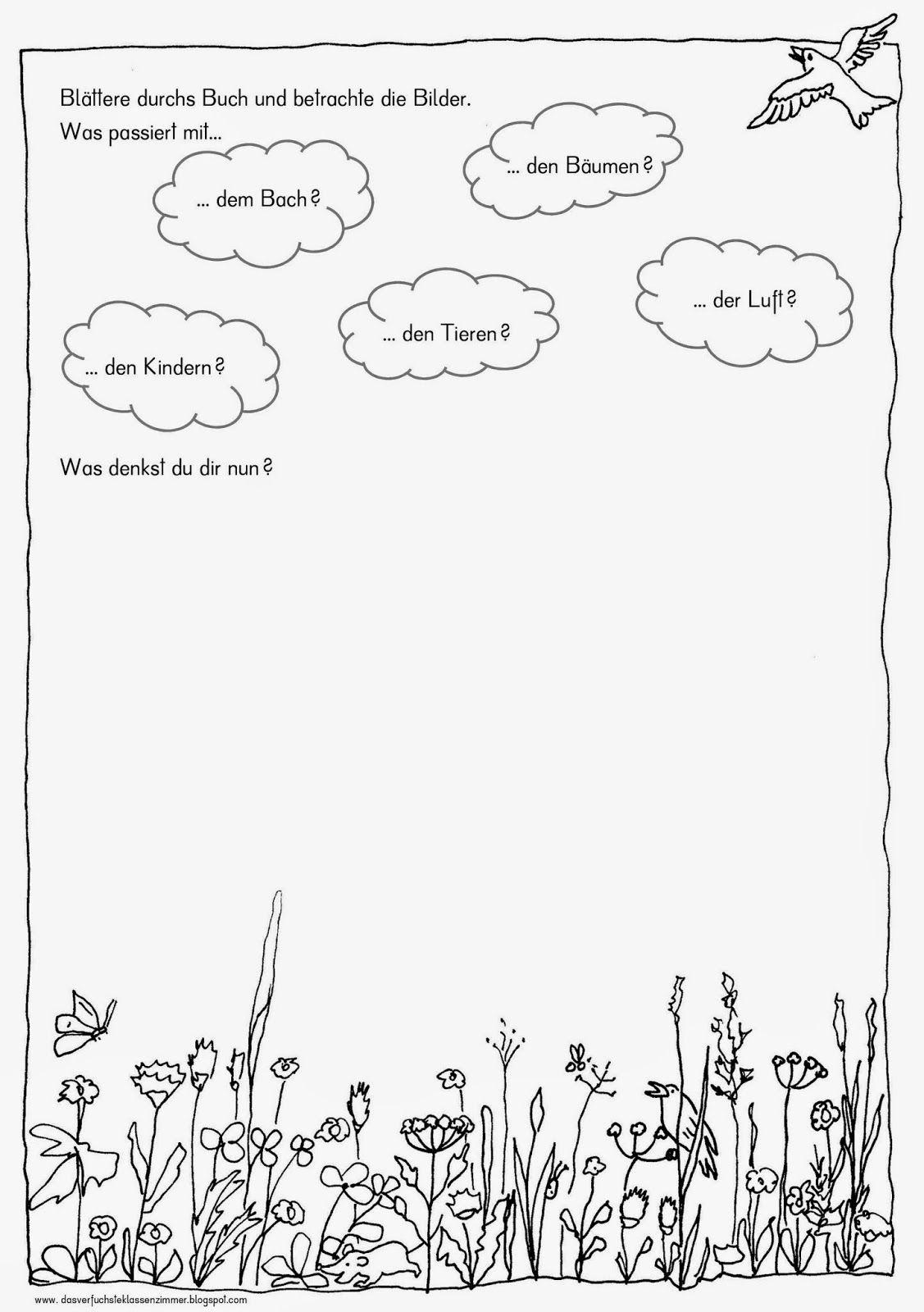 Das verfuchste Klassenzimmer - Arbeitsblatt zum Buch Da ist eine ...