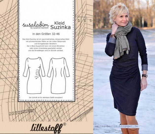 Schnittmuster Kleid **SUZINKA** Gr. 32-46 ZUm Verkauf steht 1x ...