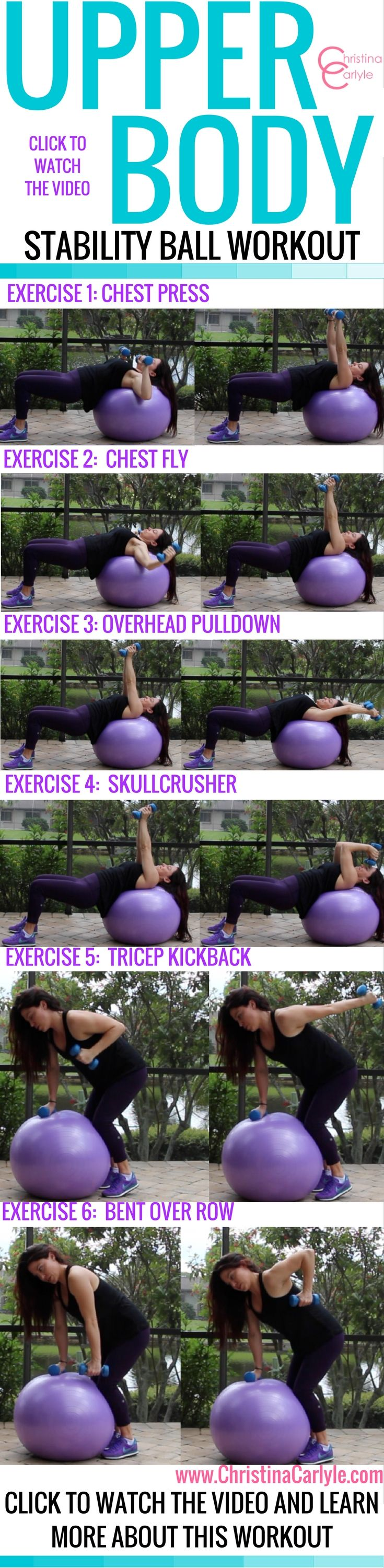 Fun, Fat Burning Exercise Ball Workout for Women