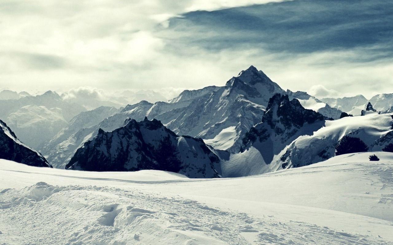 Ice Mountains Minimal Mountain Wallpaper Mountain