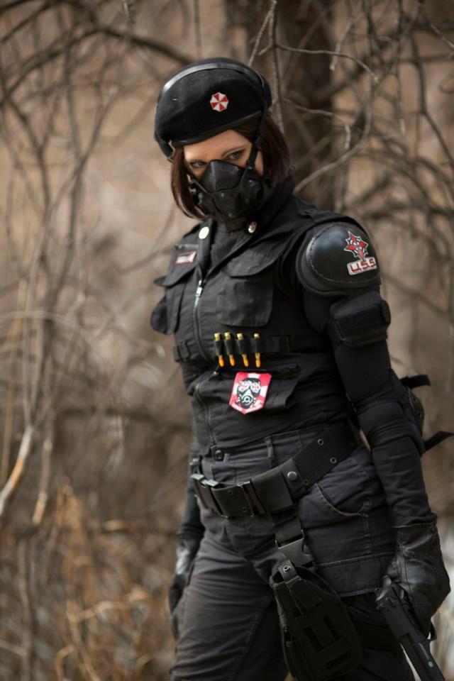 Conhecido Umbrella Corp Denver - Cosplay for charity - cosplay, Resident  CD86