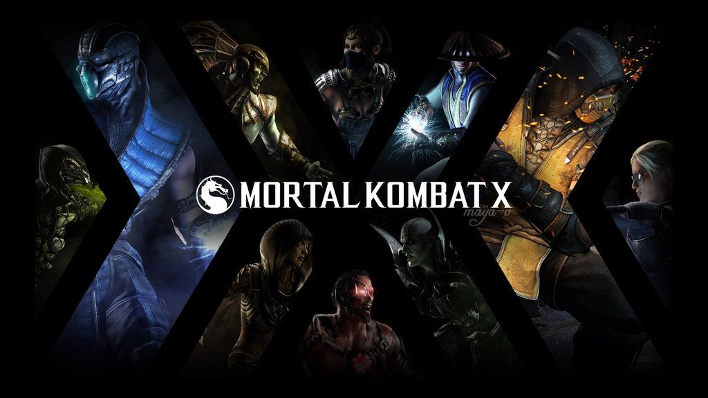 Mortal Kombat X Wallpaper By Maya V Arcade Mortal