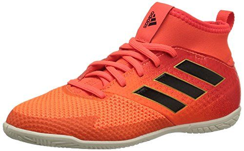 6925d27c8a9d adidas Performance Boys' Ace Tango 17.3 in J Soccer-Shoes, Solar Red/Black/Solar  Orange, 1 Medium US Little Kid