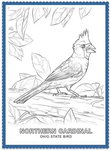 State Bird Coloring Pages By Usa Facts For Kids Bird Coloring Pages Free Printable Coloring Pages Monster Truck Coloring Pages