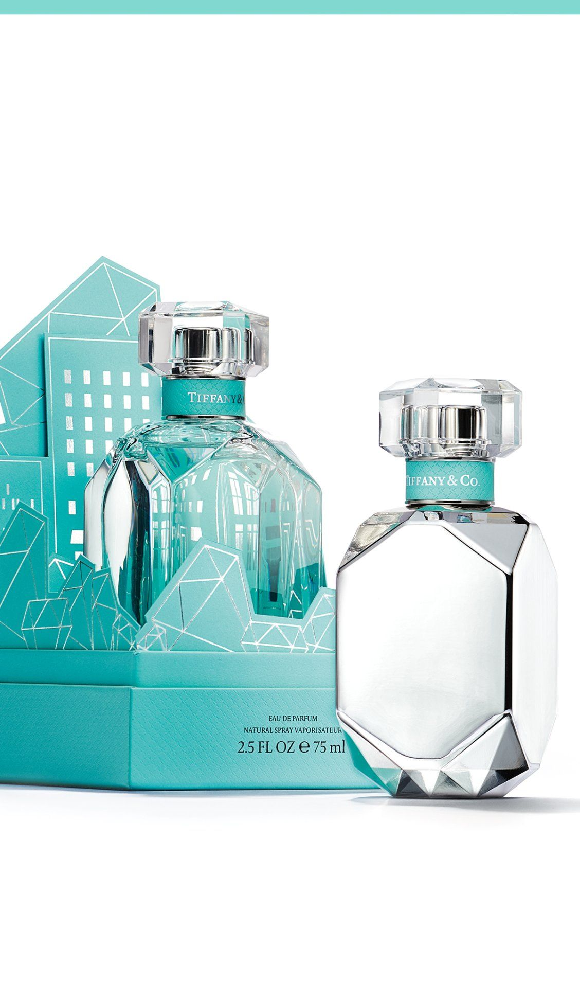 Parfum Diamantform Tiffany Eau De Parfum Intense In 2019 Stuff Blue Perfume