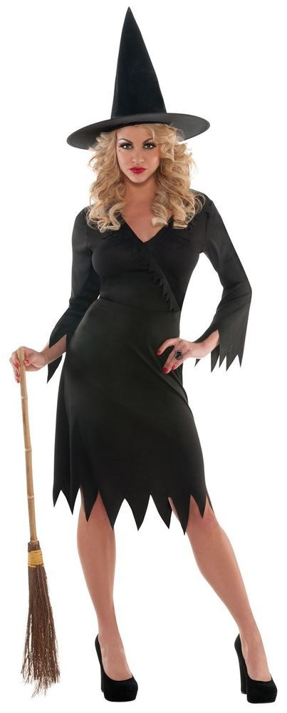 a9f599afb Classic Wicked Witch Women's Halloween Costume. Perfect Elphaba fancy dress  Medium, Plus size