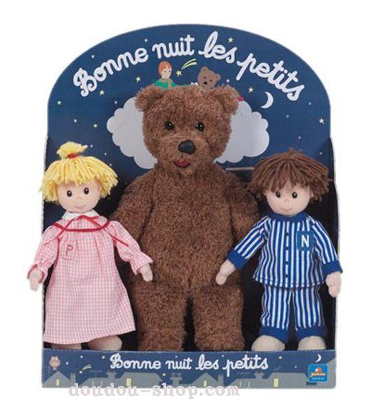 Gros nounours pimprenelle et nicolas nicolas et pimprenelle pinterest gros nounours ours - Personnage bonne nuit les petit ...