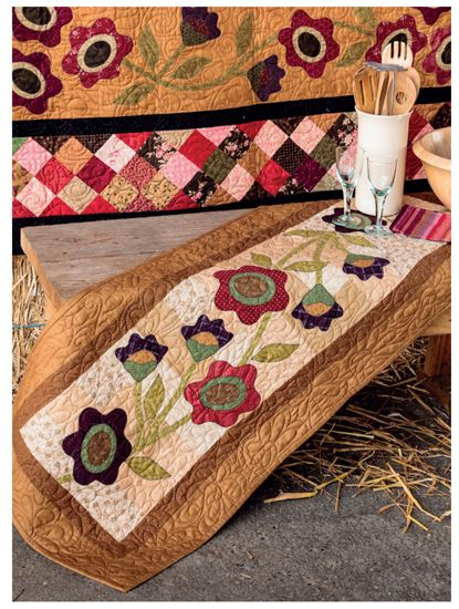 'Tis the Autumn Season - Fall Quilts and Decorating Projects #autumnseason