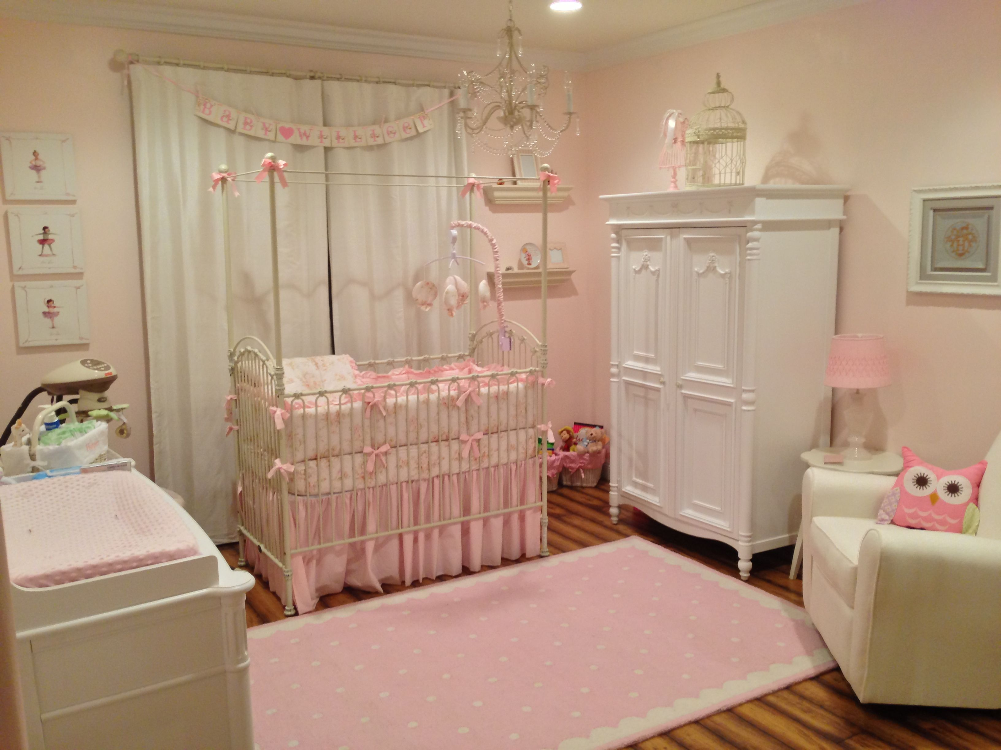 Harper Nursery! Baby Girl Nursery. Pink and