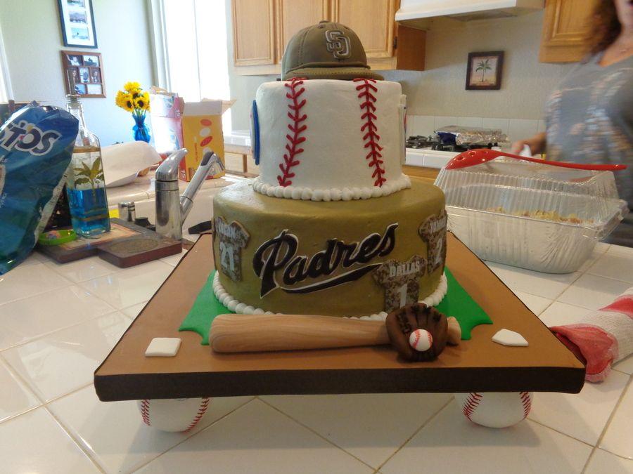 San Diego Padres cake baseball party Birthday cake ideas