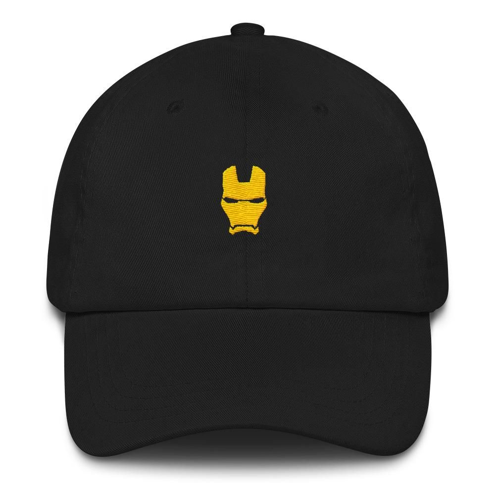 e4a591aa2463d Iron Man Hat | Dad Hats By Genuine Caps | Hats for men, Hats, Dad hats