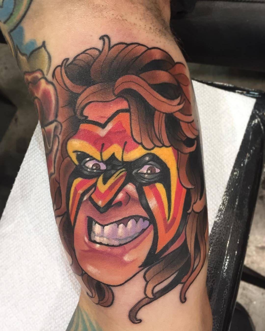 Ultimate Warrior Symbol Tattoo