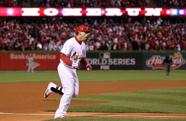 Allen Craig - 2011 World Series Game 7 - Texas Rangers v St Louis Cardinals