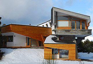 Ribbon House, a single-family mountainside residence by G2 Estudio in Patagonia,. San Carlos de Bariloche, Rio Negro, Argentina