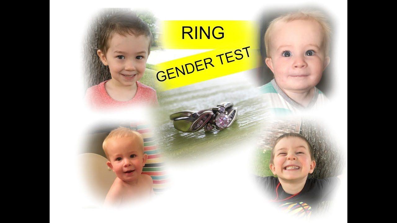 GENDER RING TEST- SPOOKY!!!! | Gender ring test, Ring test ...