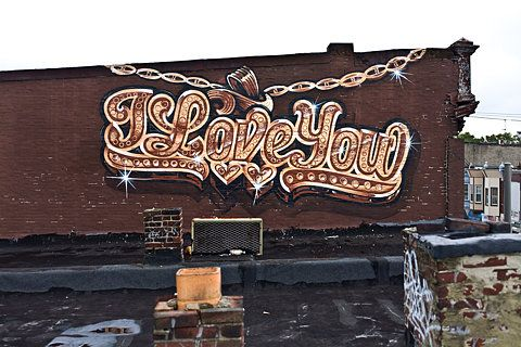 espo, West Philadelphia, Love Letters Mural Project