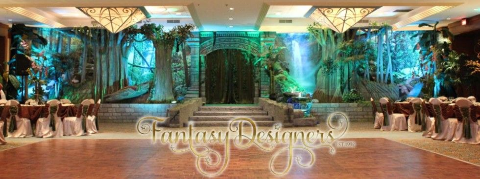 Enchanted Forest Quinceanera