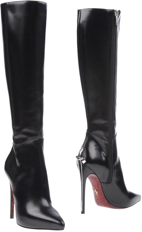 più amato 38837 0df77 Cesare Paciotti Boots | Stivali tacco alto, Scarpe