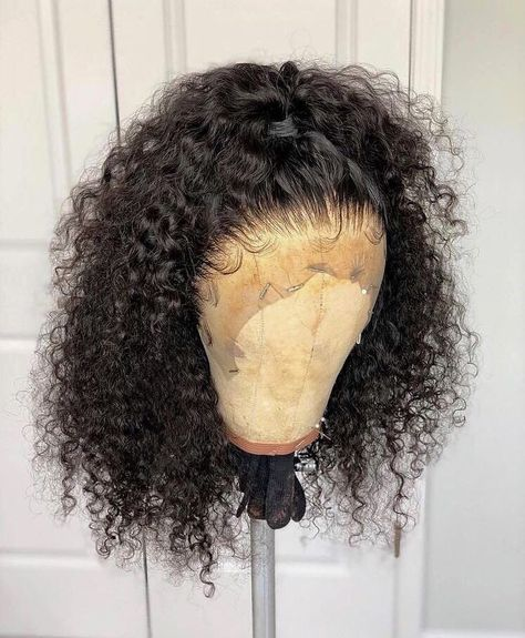 Thriving Hair Virgin Hair Tiny Curly Full Lace Human Hair Wigs with Baby Hairs #lacewigs