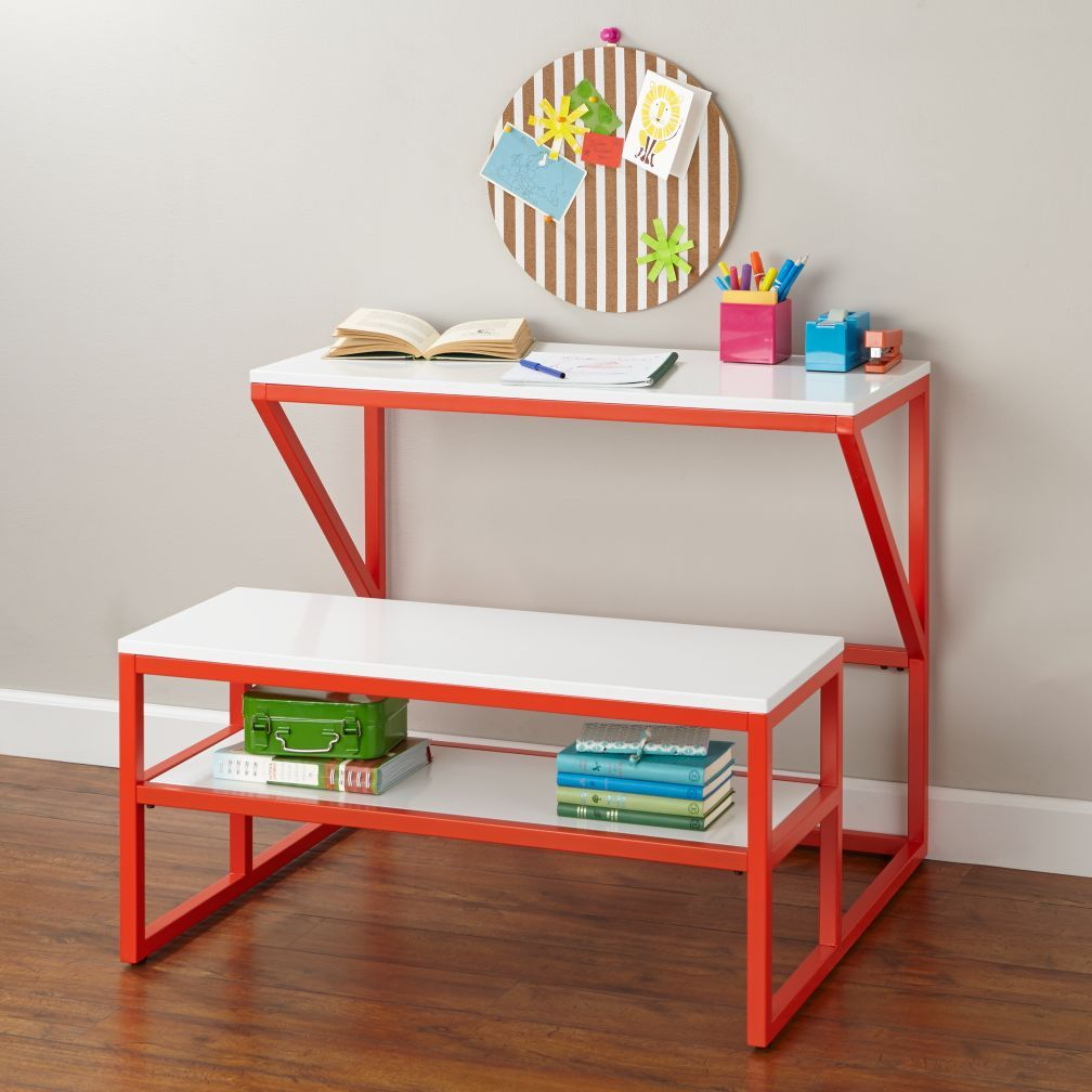 New School Kids Play Table Red Our Modern