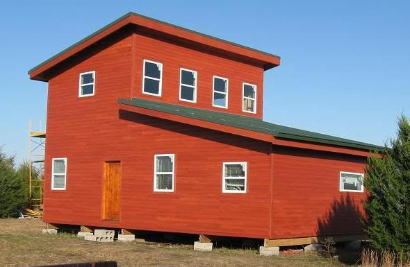 Shed roof cabin design with a few questions house ideas for Shed roof house