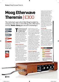 Moog Etherwave Theremin - Thomann Suomi