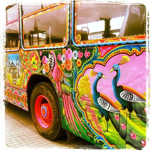Pakistani #truck #art
