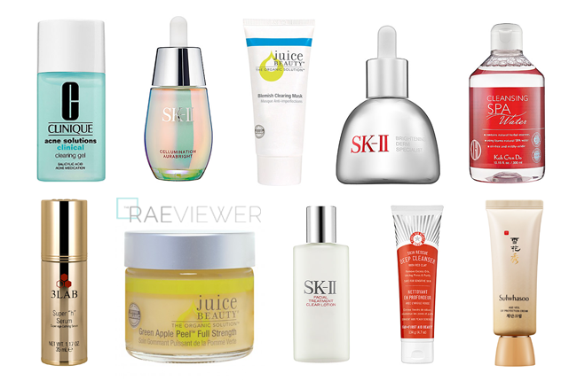 The Ten Best Skin Care Products For Acne Acne Scarring My Acne Story The Raeviewer Skin Care Top 10 Skin Care Products Simple Skincare