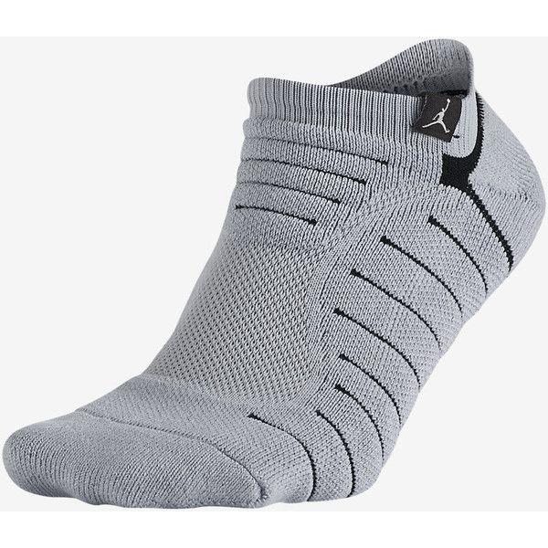 reputable site 3519c a6bbe Jordan Ultimate Flight Ankle Socks. Nike.com (€9,16) ❤ liked on Polyvore  featuring intimates, hosiery, socks, ankle socks, short socks, nike socks,  nike ...