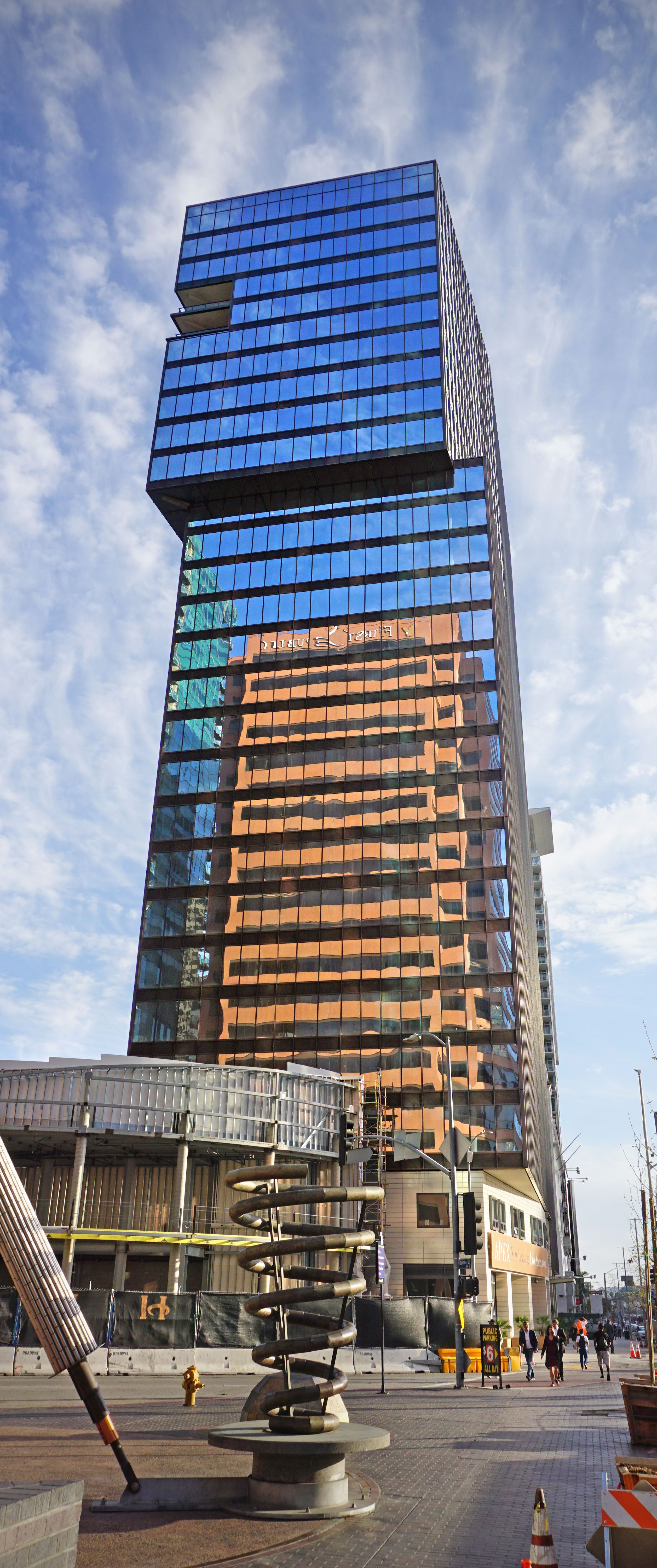 APEX The One. Located in Downtown Los Angeles, our high