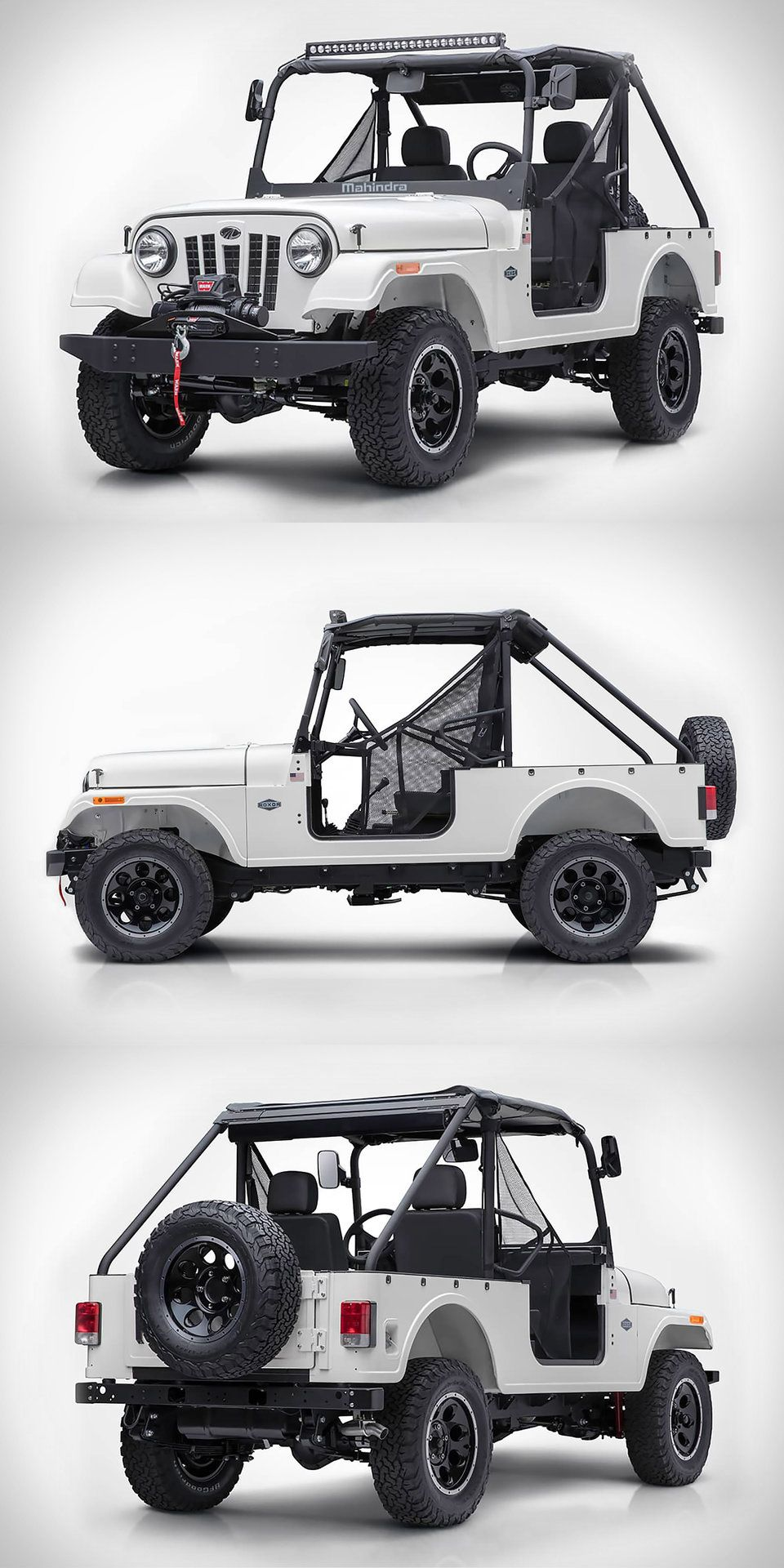 Roxor Off Road Vehicle Offroad Vehicles Mahindra Jeep Vehicles