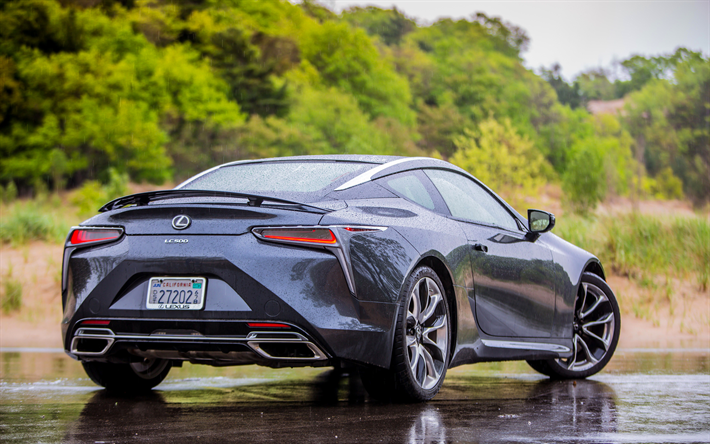 Download Wallpapers Lexus Lc 500 2018 Sports Coupe 4k Japanese