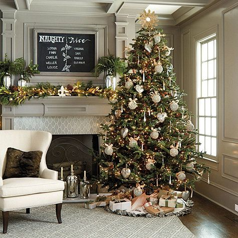 Noble Fir Christmas Tree Ballard Designs Noble Fir Christmas Tree Beachy Christmas Decor Christmas Tree