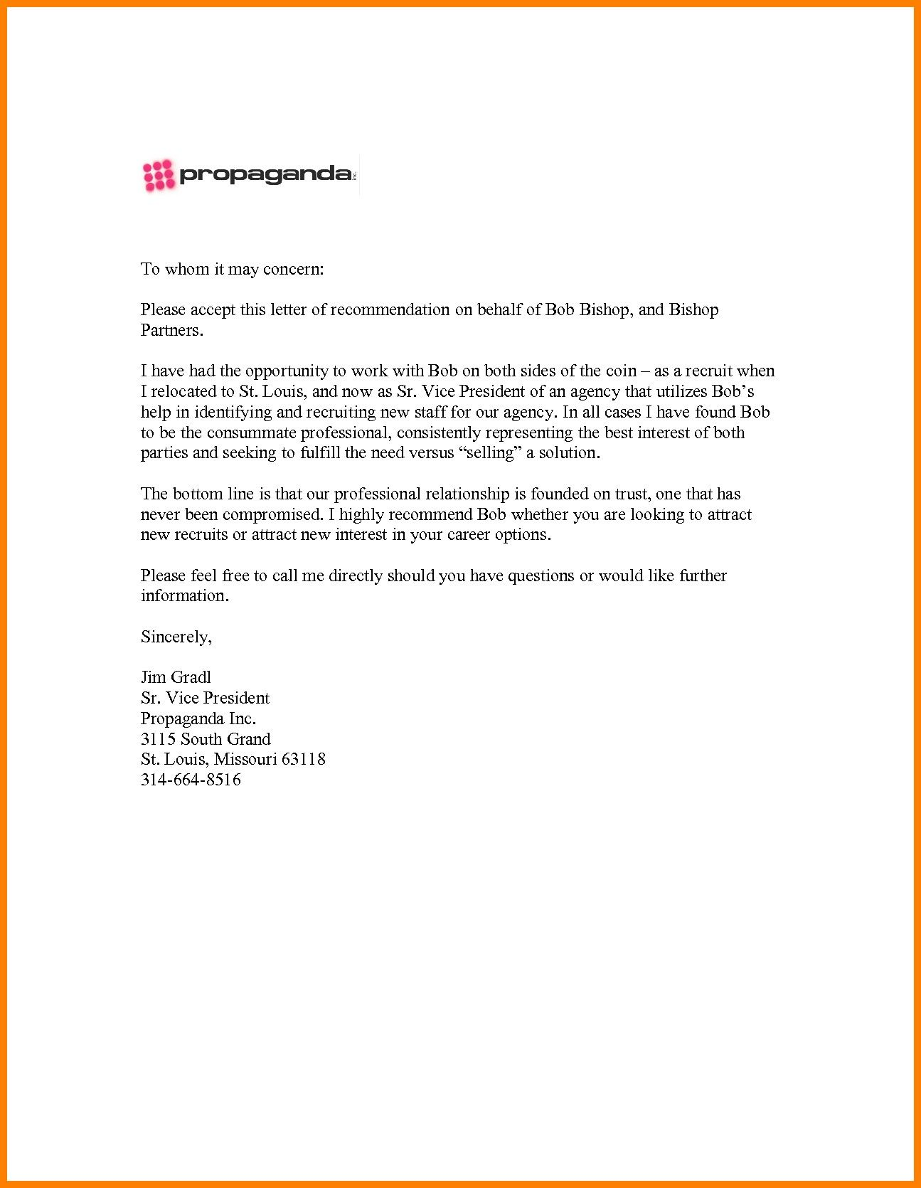 copywriting resume example