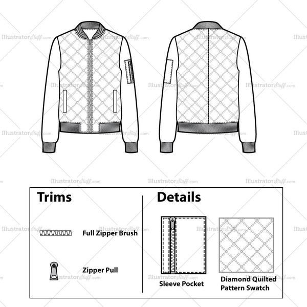 image result for bomber jacket design fashion design templates