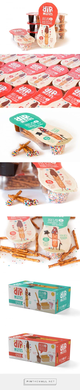 DipMates Snacks - Packaging of the World - Creative Package Design Gallery - http://www.packagingoftheworld.com/2017/01/dipmates-snacks.html