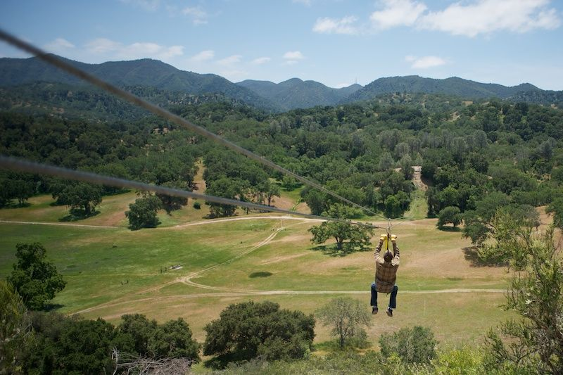Have you ever enjoyed a zip line? Santa Margarita Ranch has a fabulous one which is not to be missed when visiting the Central Coast!