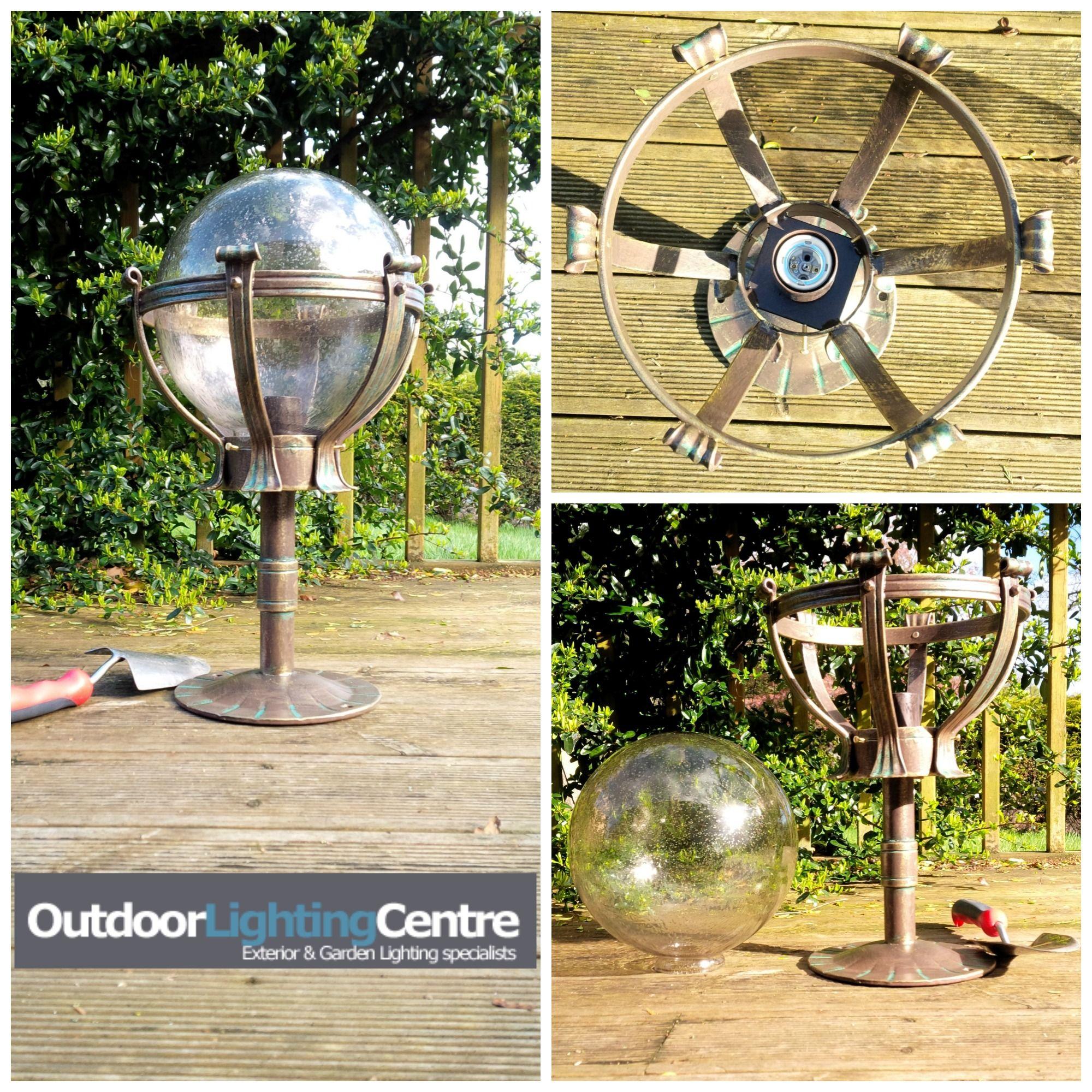 Elegant Outdoor Lighting Globes