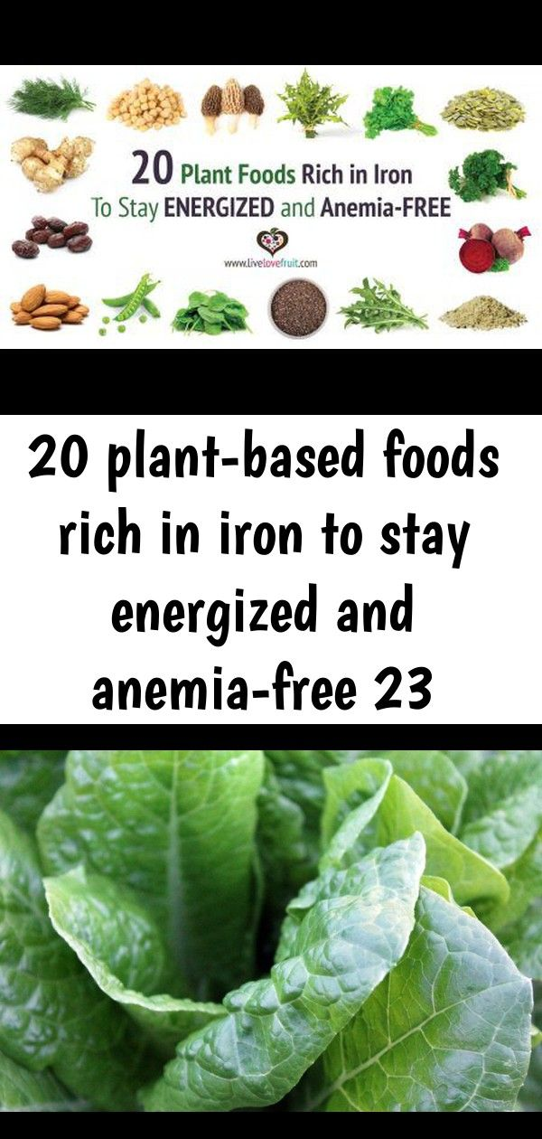 20 plant-based foods rich in iron to stay energized and anemia-free 23 #sourcreamnoodlebake
